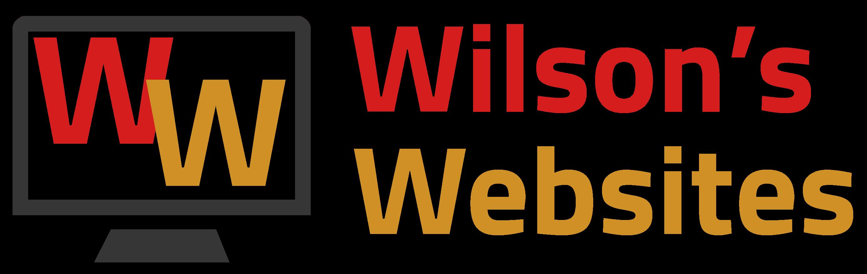 Wilson's Websites